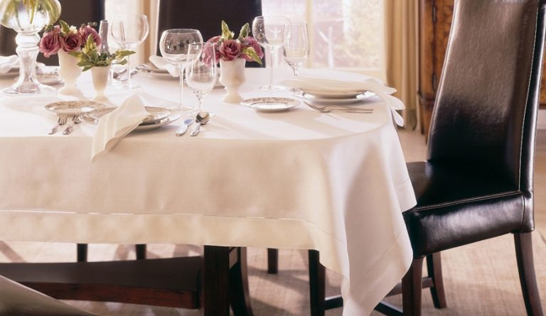 The Dining Room: Washing and Care Instructions for Table Linens